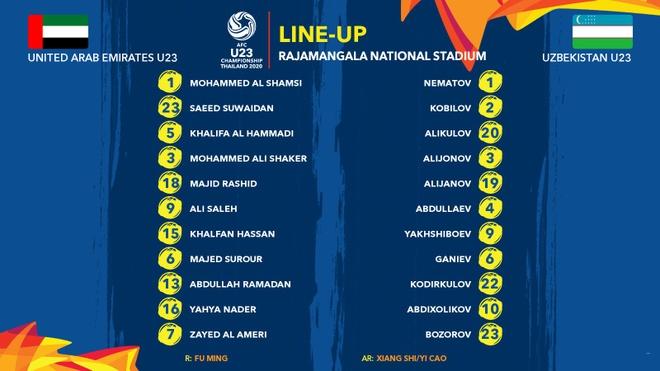 De bep UAE 5-1, U23 Uzbekistan gianh quyen vao ban ket chau A hinh anh 5 line.jpg