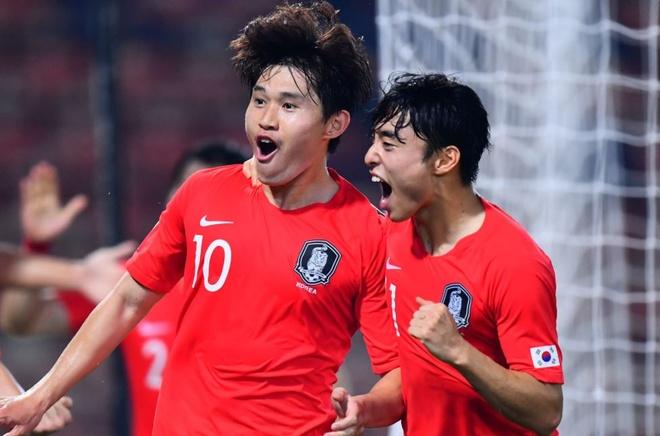 U23 Han Quoc vao tranh vo dich sau tran ban ket mot chieu hinh anh 8 Capture.JPG