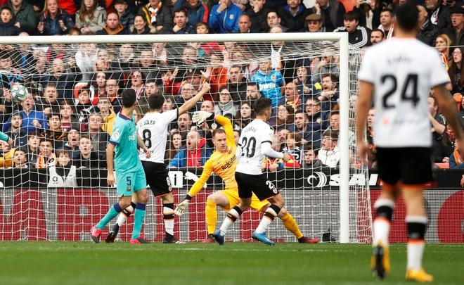 Messi tit ngoi, Barca phoi ao truoc Valencia hinh anh 21 2020_01_25T161723Z_1935936832_RC24NE9F8CLM_RTRMADP_3_SOCCER_SPAIN_VAL_FCB_REPORT.JPG