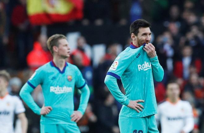 Messi tit ngoi, Barca phoi ao truoc Valencia hinh anh 25 2020_01_25T164310Z_911452668_RC24NE9OIWGB_RTRMADP_3_SOCCER_SPAIN_VAL_FCB_REPORT.JPG