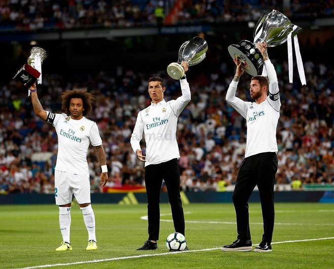 Messi: 'Ronaldo co uy tin tai La Liga du hiem khi vo dich' hinh anh 1 32.jpg