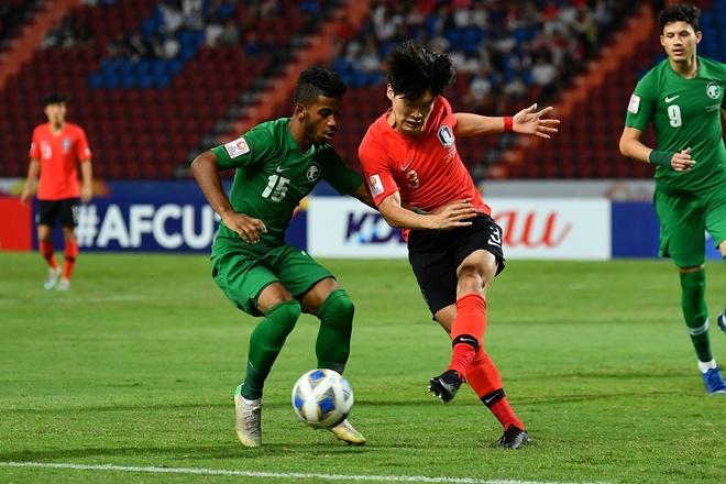 Ha Saudi Arabia, U23 Han Quoc lan dau vo dich chau A hinh anh 14 AFC_U_23_CHAMPIONSHIP_2020_Match_1_.jpg