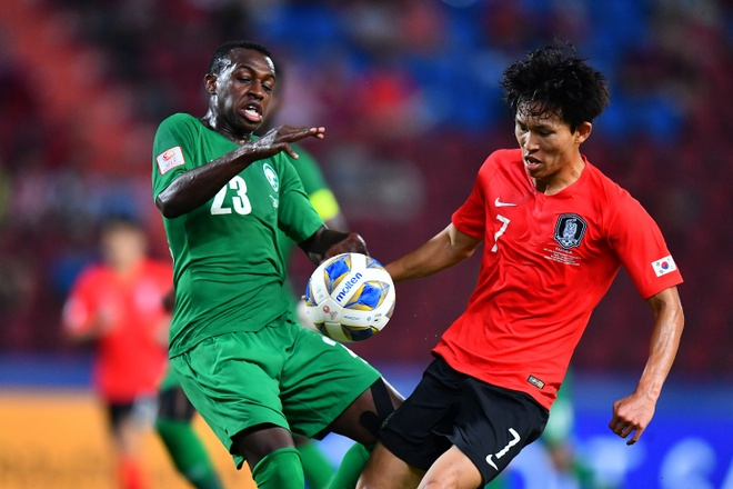 Ha Saudi Arabia, U23 Han Quoc lan dau vo dich chau A hinh anh 1 AFC_U_23_CHAMPIONSHIP_2020_Match_2_.jpg