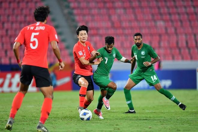 Ha Saudi Arabia, U23 Han Quoc lan dau vo dich chau A hinh anh 16 AFC_U_23_CHAMPIONSHIP_2020_Match_3_.jpg