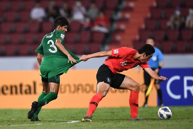 Ha Saudi Arabia, U23 Han Quoc lan dau vo dich chau A hinh anh 19 AFC_U_23_CHAMPIONSHIP_2020_Match_5_.jpg