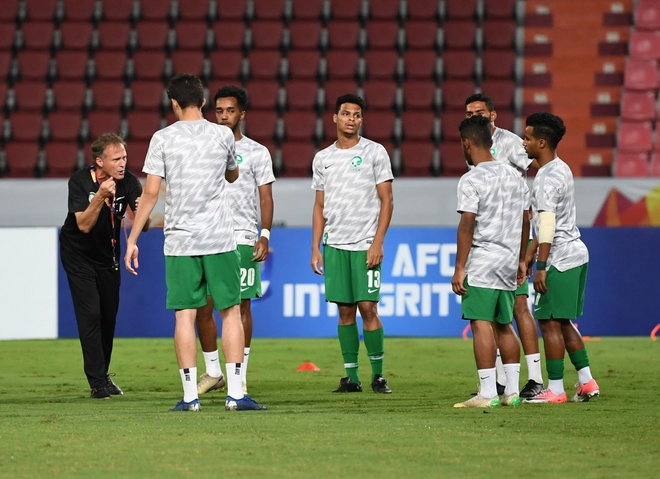 Ha Saudi Arabia, U23 Han Quoc lan dau vo dich chau A hinh anh 9 AFC_U_23_CHAMPIONSHIP_2020_Pre_Match_2_.jpg