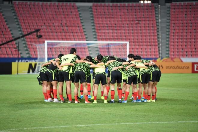 Ha Saudi Arabia, U23 Han Quoc lan dau vo dich chau A hinh anh 10 AFC_U_23_CHAMPIONSHIP_2020_Pre_Match_3_.jpg