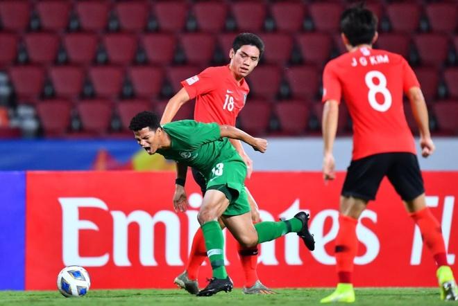 Ha Saudi Arabia, U23 Han Quoc lan dau vo dich chau A hinh anh 17 Capture.JPG