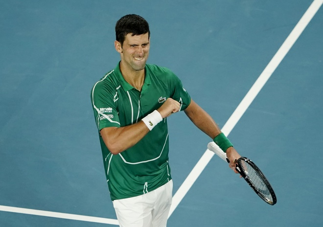 Ha Thiem sau 5 set, Djokovic lan thu 8 vo dich Australian Open hinh anh 4 2020_01_30T111013Z_2085534369_UP1EG1U0V11KE_RTRMADP_3_TENNIS_AUSOPEN.JPG