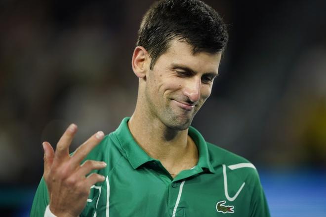 Ha Thiem sau 5 set, Djokovic lan thu 8 vo dich Australian Open hinh anh 33 2020_02_02T103440Z_2090764749_UP1EG220TDS88_RTRMADP_3_TENNIS_AUSOPEN.JPG