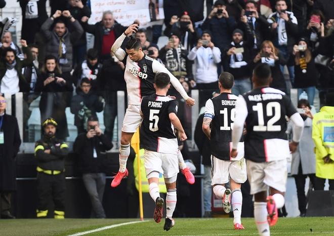 Juventus 3-0 Fiorentina: Ronaldo lap cu dup tu cham phat den hinh anh 14 2020_02_02T122620Z_2070608751_RC2CSE9OFIRW_RTRMADP_3_SOCCER_ITALY_JUV_FIO_REPORT.JPG
