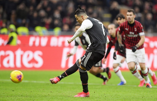 Ronaldo lap cong trong ngay doi dau Ibrahimovic hinh anh 23 2020_02_13T214238Z_1591969700_RC2XZE9JPAE0_RTRMADP_3_SOCCER_ITALY_MIL_JUV_REPORT.JPG