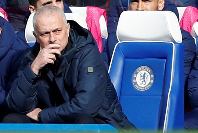 HLV Mourinho toan thua khi doi dau Lampard hinh anh 1 2020_02_22T123806Z_1264062380_RC2O5F9PT87O_RTRMADP_3_SOCCER_ENGLAND_CHE_TOT_REPORT.JPG