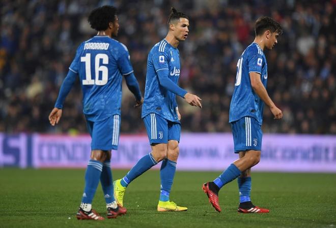 Ronaldo toa sang, Juventus xay chac ngoi dau Serie A hinh anh 12 2020_02_22T173535Z_1407220449_RC2T5F9Q7MSQ_RTRMADP_3_SOCCER_ITALY_SPA_JUV_REPORT.JPG