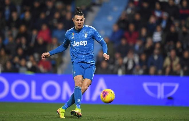 Ronaldo tao thong ke kho tin sau tran thang cua Juventus hinh anh 1 2020_02_22T174404Z_252076535_RC2T5F9AOWSC_RTRMADP_3_SOCCER_ITALY_SPA_JUV_REPORT.JPG
