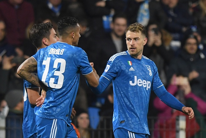 Ronaldo toa sang, Juventus xay chac ngoi dau Serie A hinh anh 15 2020_02_22T182301Z_1445476118_RC2U5F9CX293_RTRMADP_3_SOCCER_ITALY_SPA_JUV_REPORT.JPG