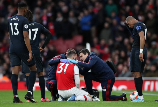 Arsenal 3-2 Everton: Ruot duoi ty so hap dan hinh anh 12 2020_02_23T164821Z_792405639_RC2G6F9FHGW9_RTRMADP_3_SOCCER_ENGLAND_ARS_EVE_REPORT.JPG