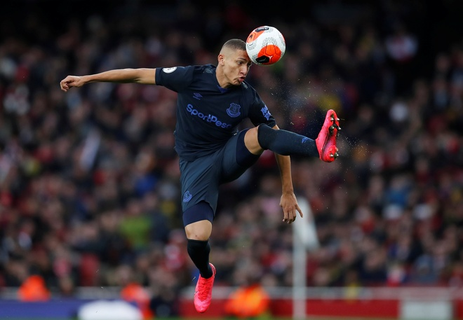 Arsenal 3-2 Everton: Ruot duoi ty so hap dan hinh anh 13 2020_02_23T165539Z_1492812013_RC2G6F9TQYYS_RTRMADP_3_SOCCER_ENGLAND_ARS_EVE_REPORT.JPG