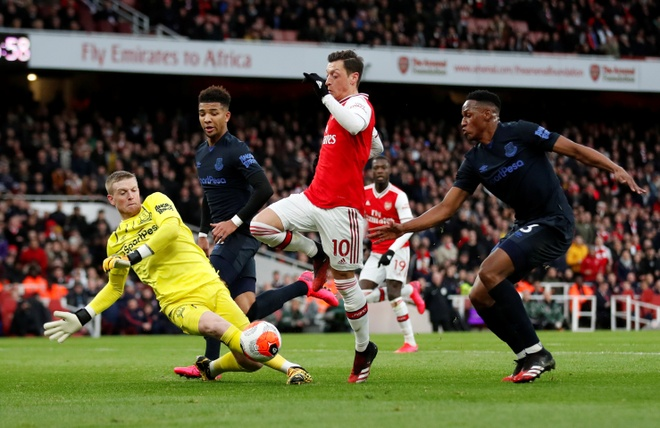 Arsenal 3-2 Everton: Ruot duoi ty so hap dan hinh anh 16 2020_02_23T170327Z_31092761_RC2H6F9V3A2G_RTRMADP_3_SOCCER_ENGLAND_ARS_EVE_REPORT.JPG