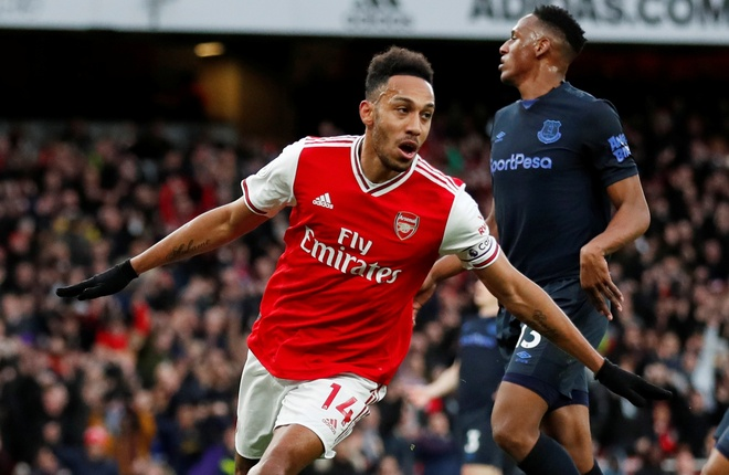 Arsenal 3-2 Everton: Ruot duoi ty so hap dan hinh anh 2 2020_02_23T170535Z_789483994_RC2H6F9CBWR9_RTRMADP_3_SOCCER_ENGLAND_ARS_EVE_REPORT.JPG