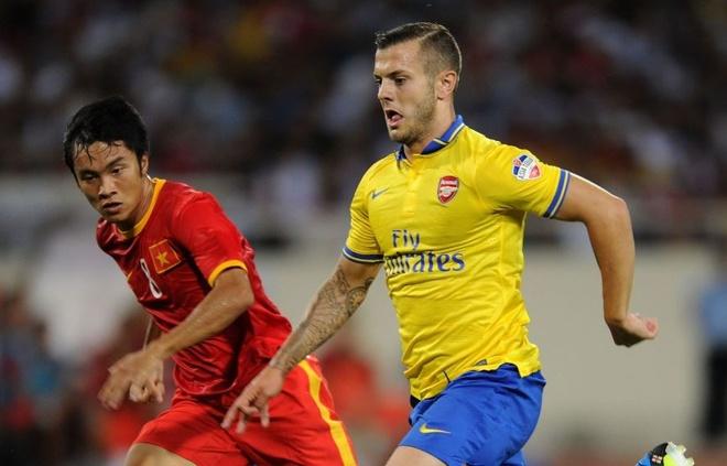Gnabry va dan sao Arsenal den Viet Nam nam 2013 hinh anh 5 5.JPG