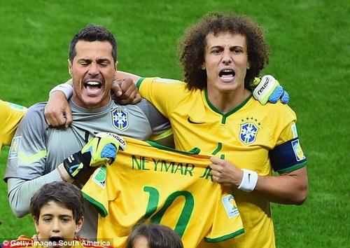 Doi hinh Brazil thua Duc 1-7 dang o dau? anh 1
