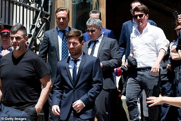 Messi muon roi Barca anh 1