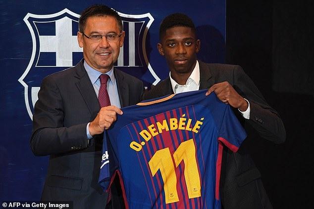 Ousmane Dembele sap thanh dong doi cua Ronaldo anh 1