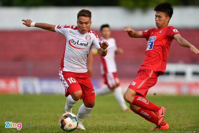 CLB Hai Phong vs CLB TP.HCM anh 1