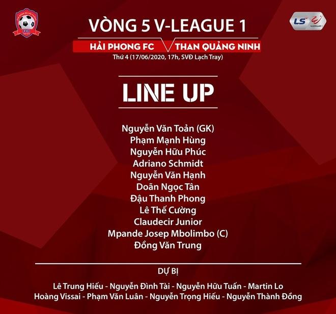 Truc tiep Hai Phong vs Quang Ninh anh 2