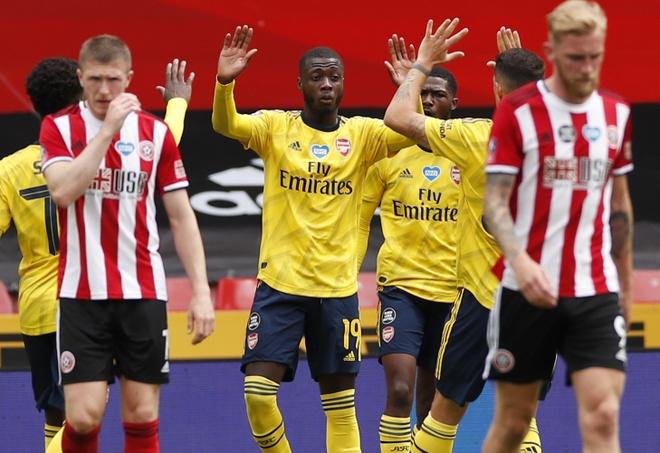 Arsenal vs Sheffield anh 1