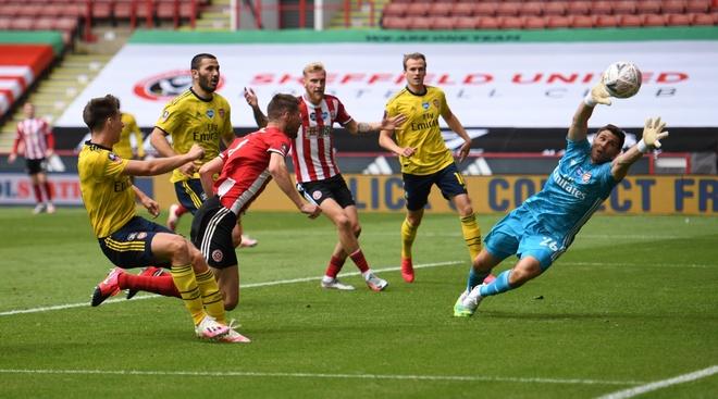 Arsenal vs Sheffield anh 23