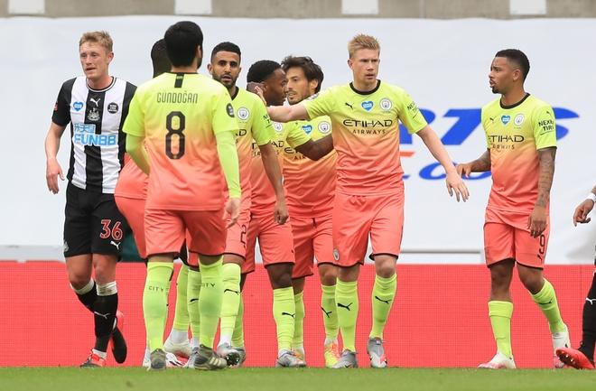 Newcastle vs Man City anh 17