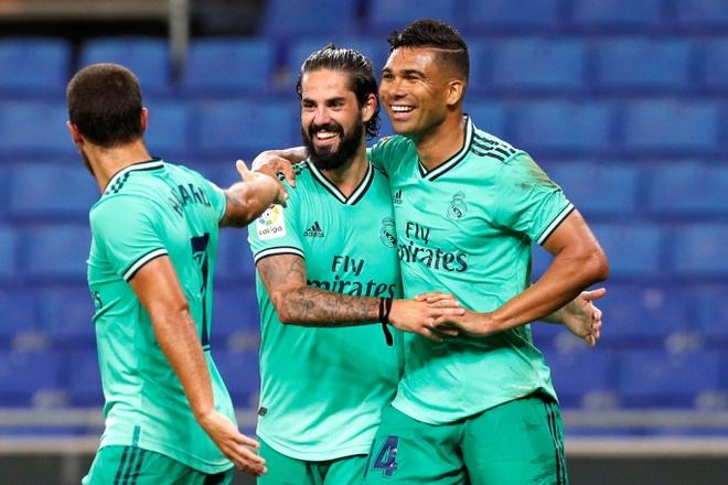 Espanyol vs Real Madrid anh 1
