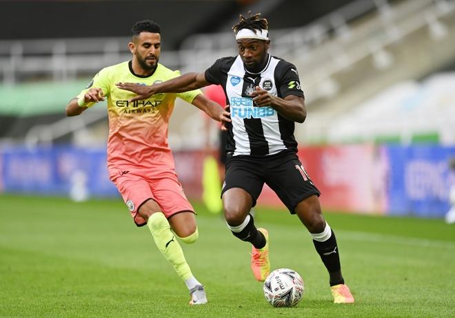 Newcastle vs Man City anh 19