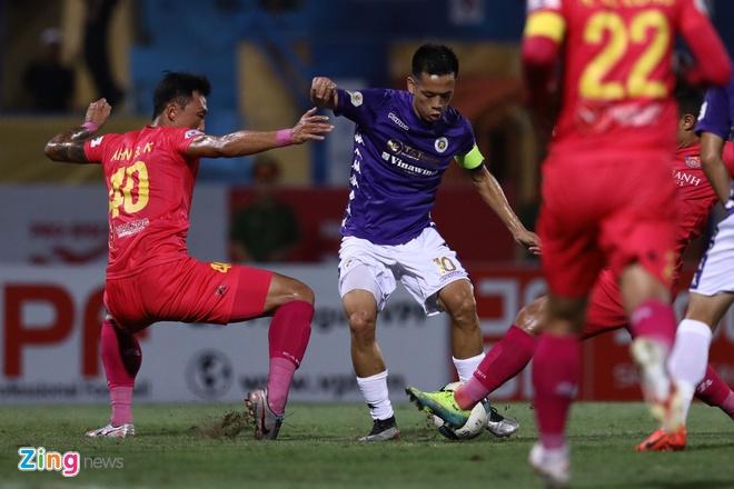 CLB Ha Noi vs CLB Sai Gon anh 8