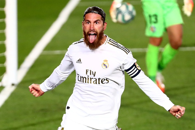 Ramos ghi ban nhieu hon Messi anh 1