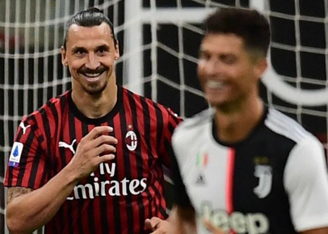 Ronaldo doi dau Ibra anh 4