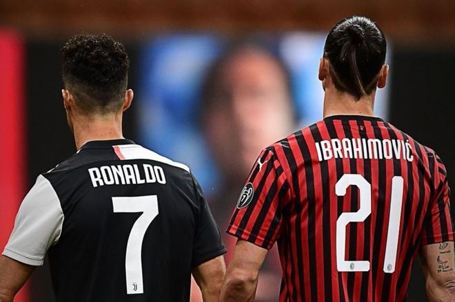 Ronaldo doi dau Ibra anh 1