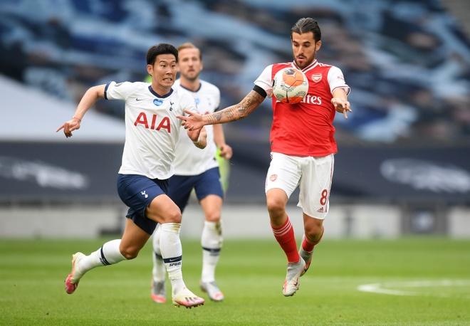 Tottenham gap Arsenal anh 2