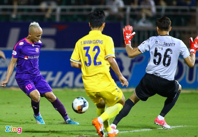 CLB Quang Nam vs CLB sai Gon anh 4