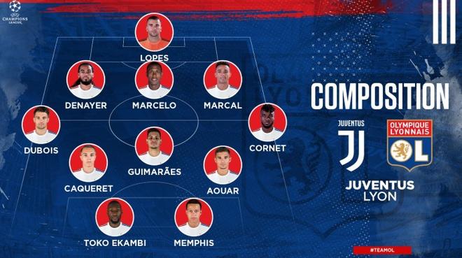 Juventus vs Lyon anh 5