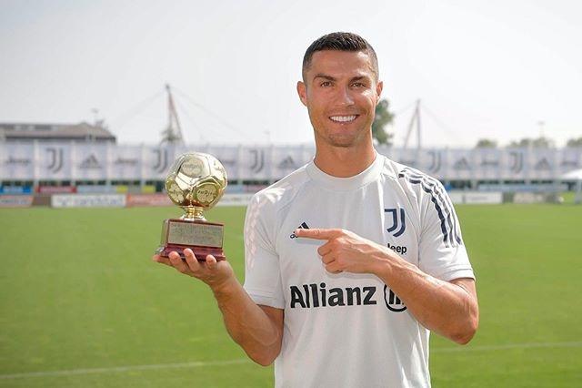 Ronaldo gianh danh hieu anh 1