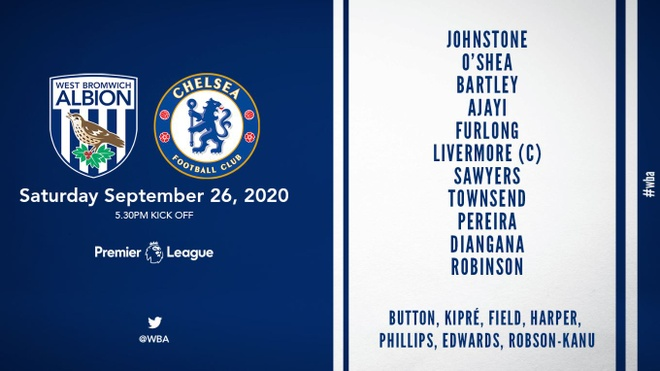 Chelsea vs West Brom anh 22