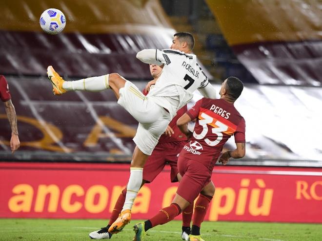 Roma gap Juventus anh 1