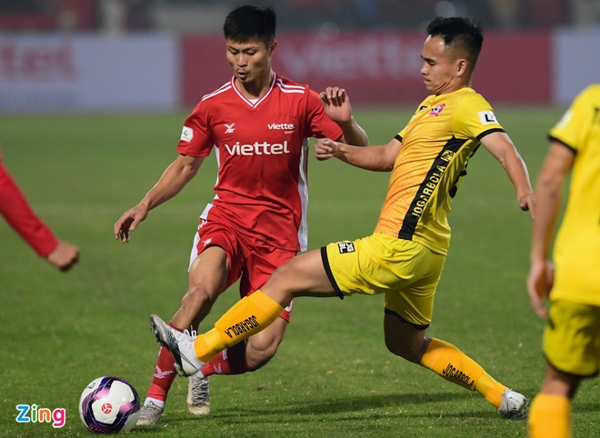 CLB Viettel vs Hai Phong anh 10