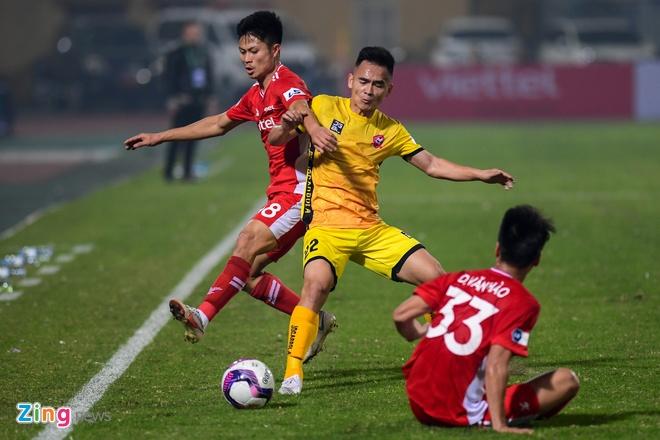 CLB Viettel vs Hai Phong anh 15