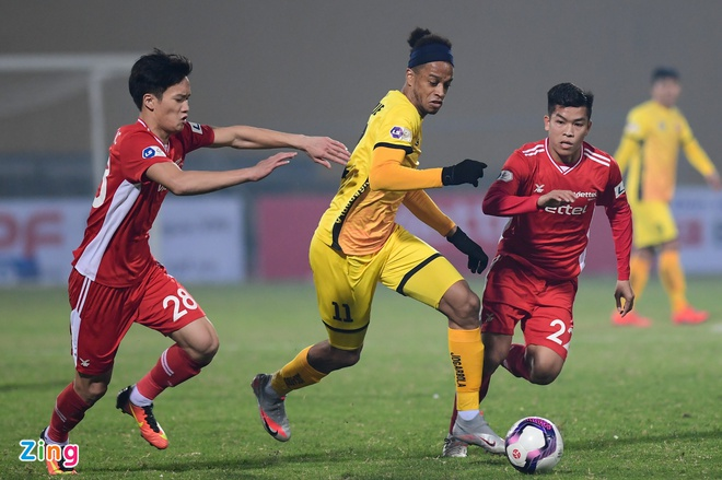 CLB Viettel vs Hai Phong anh 16
