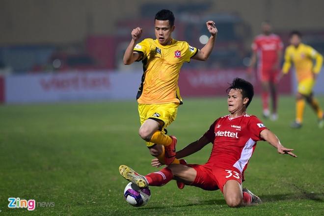 CLB Viettel vs Hai Phong anh 22