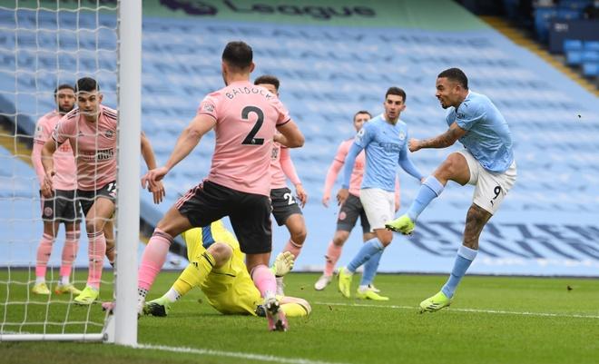 Man City vs Sheffield anh 1